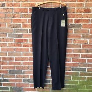 Ralph Lauren 100% Navy Wool Pants Sz 36W x 34L